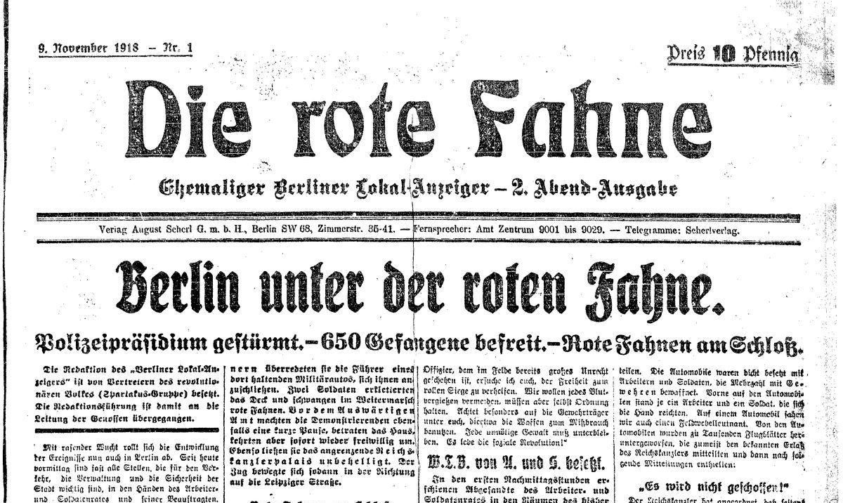 9. November 1918